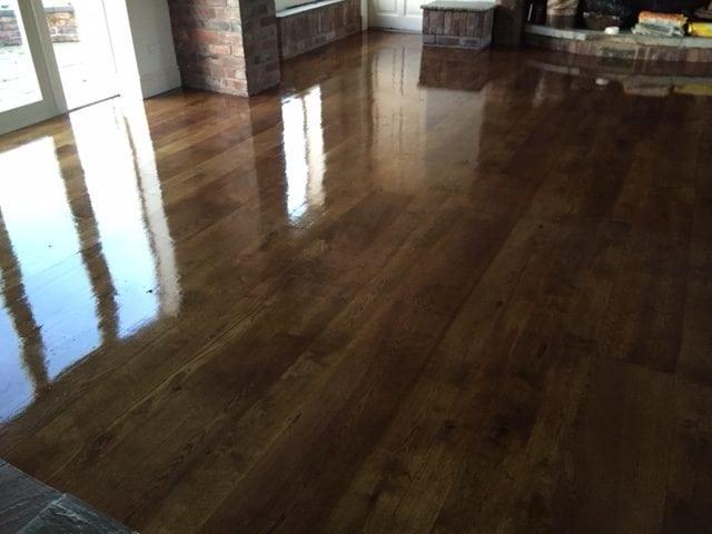 Wood Floor Sanding after