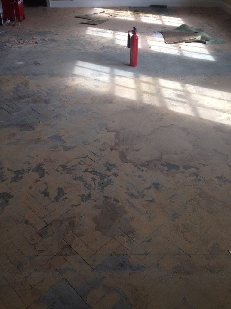 Wood Floor Sanding Manchester Before 1