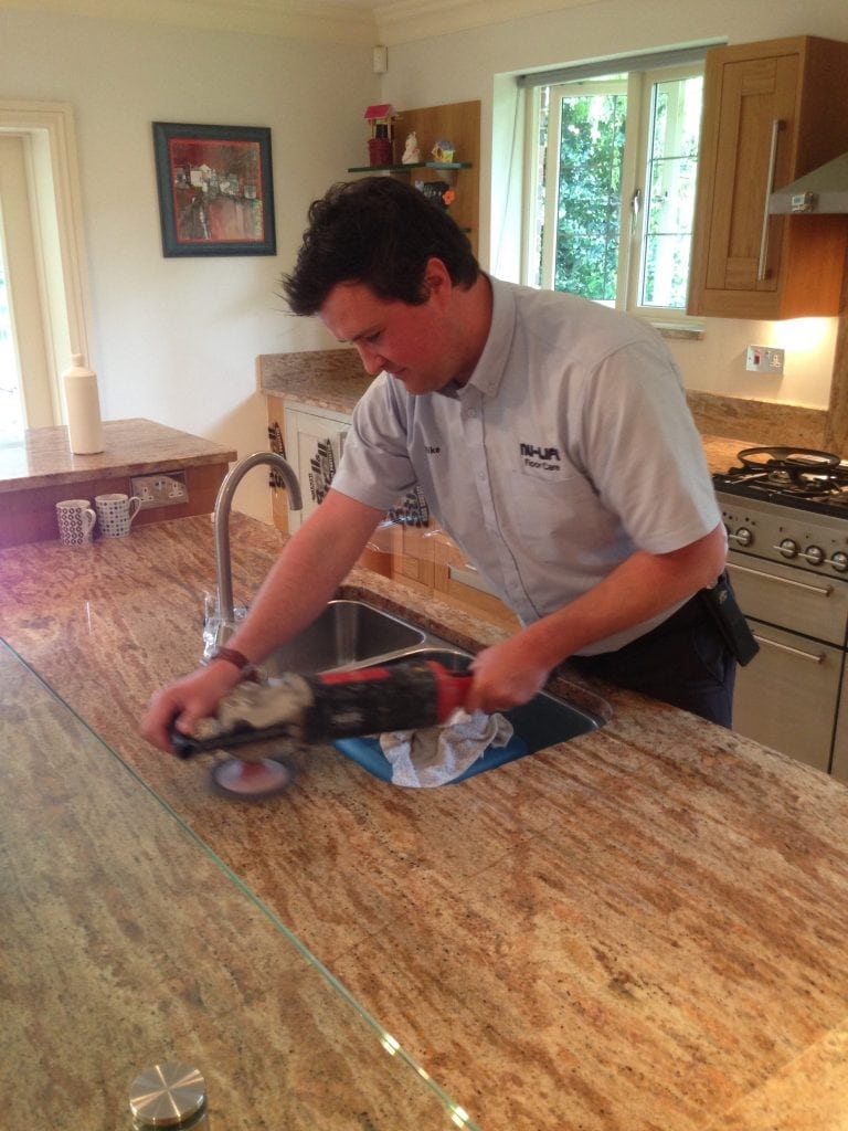 Stone Worktop Cleaning