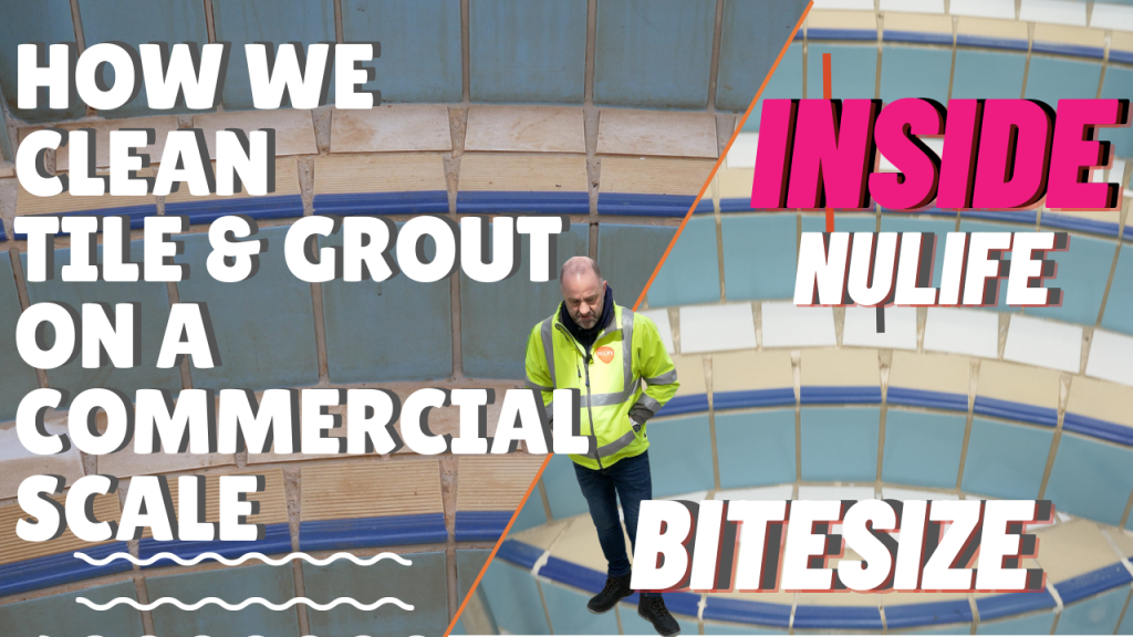 How We Clean Tile & Grout On A Commercial Scale